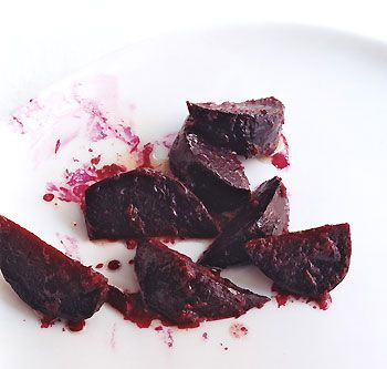 Lots of fresh beets in my garden right now - grilling the beets and cutting back on the butter.  Mmmmmm
