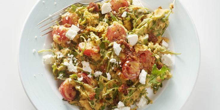 Boodschappen - Lentestamppotje met rucola en tomaatjes