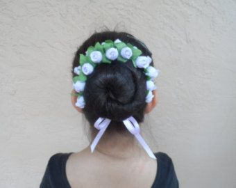 1000 Ideas About Flower Bun On Pinterest Braided Bun