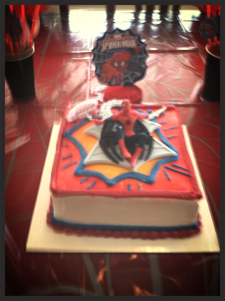 17 Best Images About Spiderman Birthday Party On Pinterest