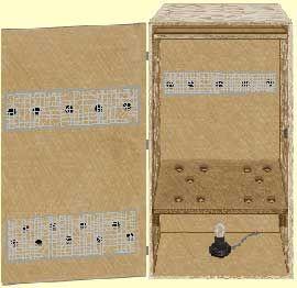 make a biltong box, and your own biltong