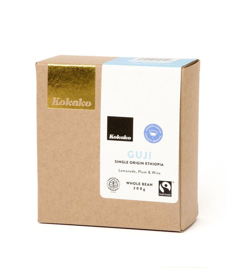Guji Single Origin specialty coffee from Ethiopia.