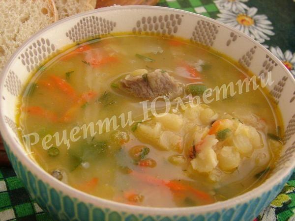 рецепт смачного горохового супу