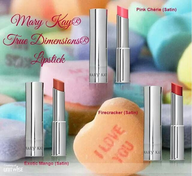 Mary Kay True Dimensions Lipstick www.emelie.nygren.marykay.se