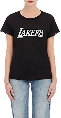 "Shop Now - >  https://api.shopstyle.com/action/apiVisitRetailer?id=606254378&pid=uid6996-25233114-59 The Elder Statesman X NBA Women's ""Lakers"" Cashmere-Silk T-Shirt  ..."