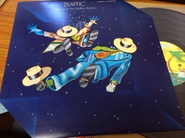 中古レコード店 | スノー・レコードのブログ: 花粉の季節がやってきた、トラフィックの六角形ジャケットのレコードと、エリック・クラプトンの来日