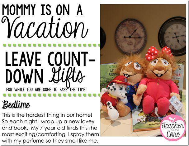Mommy is leaving for a teacher week in Vegas!!!! 5 Tips to Make it Fun for Everyone. These little Kohls toys would also be great as reading buddies in the classroom.