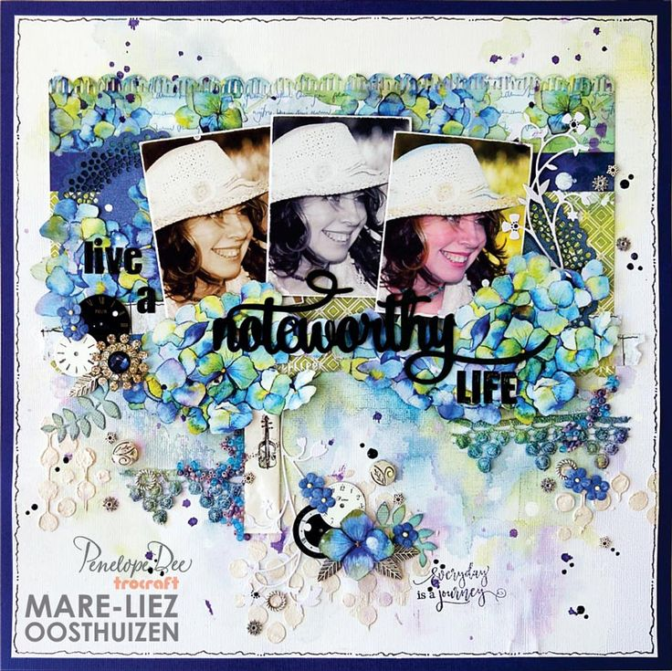 Layout created by Mare-Liez Oosthuizen with the Summer Breeze Collection.