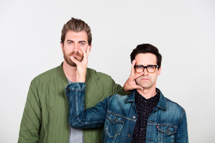 Rhett and Link  Happy #NationalBestFriendsDay