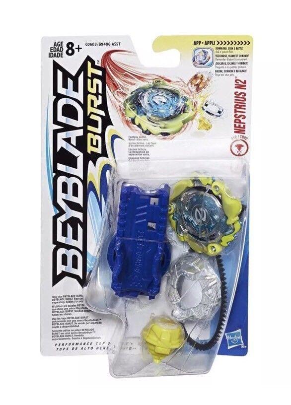 Beyblade Burst Hasbro Starter Nepstrius N2 Aka Nova Neptune Attack Type 630509507375 Ebay Beyblade Burst Starter Pack Hasbro
