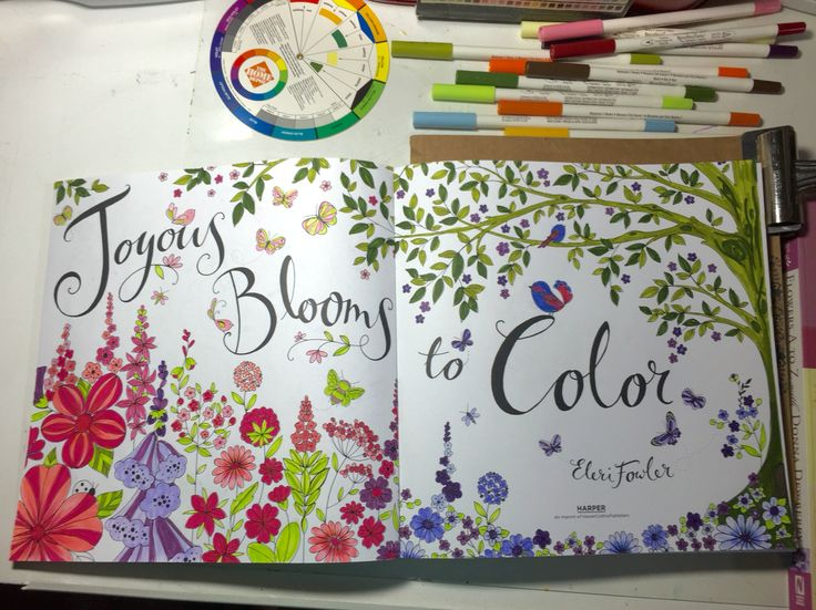 Blooms Colored By SJ Using Recollections Fine Pen