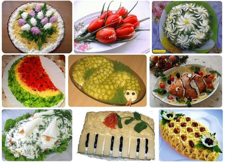 Decoration, Salads and Ideas on Pinterest