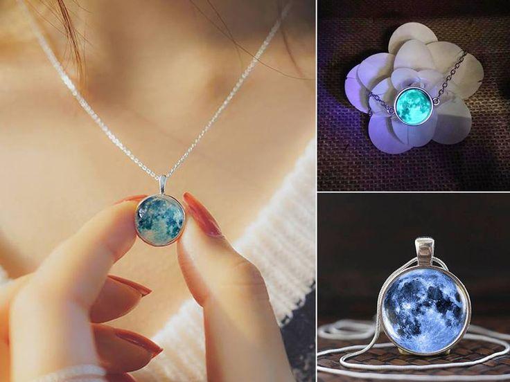 Glow In The Dark Charms - Necklace, Bracelet & Earrings
