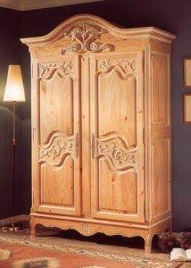 Jati Furniture Minimalis: ALMARI / LEMARI JATI 2 PINTU
