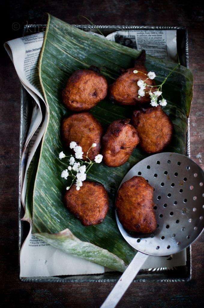Cekodok Pisang {Banana Fritters} | KiranTarun.com @Kira Neal Srivastava