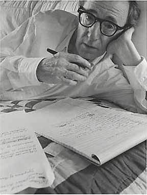 Arnold Newman     Woody Allen, New York City      1996