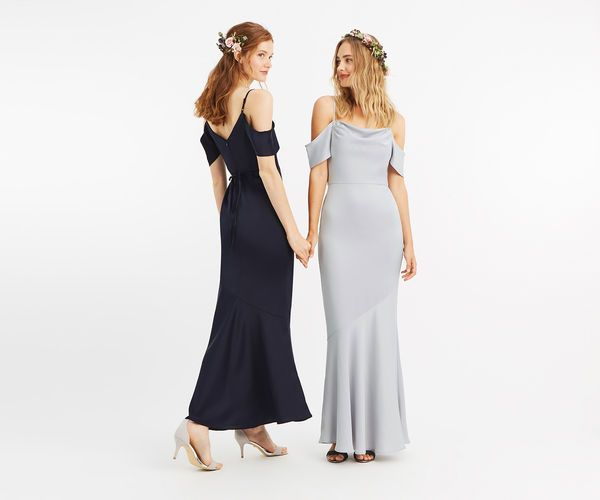 Oasis Dresses Sale Best Deals Pale Grey Amy Slinky Cowl Neck Maxi 64992 On Sale Oasis Dress Bridesmaid Dresses Sophisticated Dress