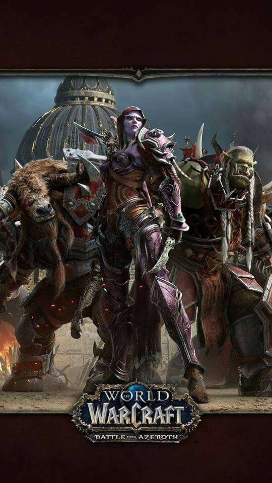World of warcraft - Battle for Azerothe