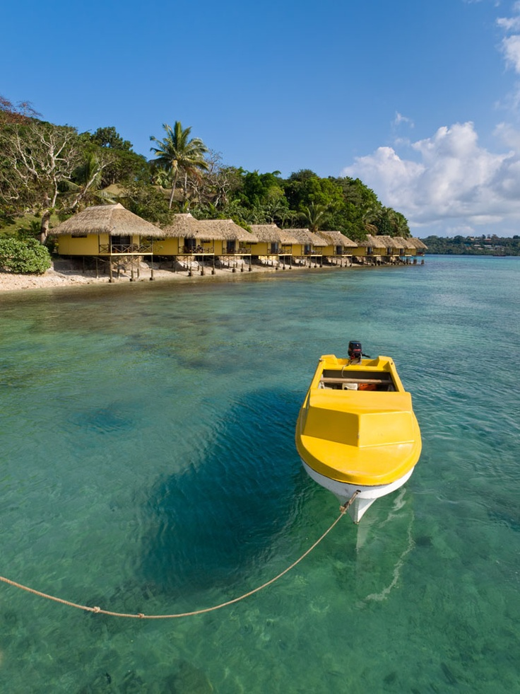 Vanuatu has a lot of tourism because of its tropical climate.