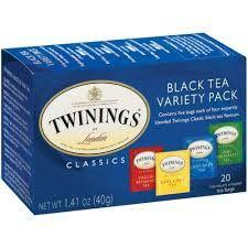 Twinings Variety Pack Black Bagged Tea, 20 Ct