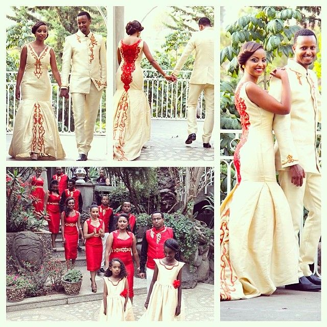 Ethiopian wedding I love this modern version of the dress!!!