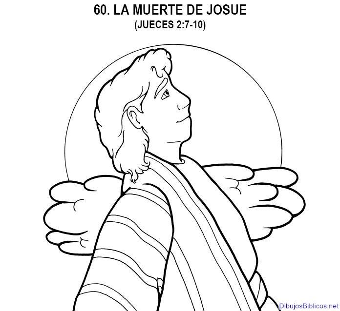 60 Leccion Biblica La Muerte De Josue Dibujos De La Biblia