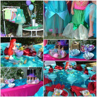 Little Mermaid Party Muschelschalen aus Pappe