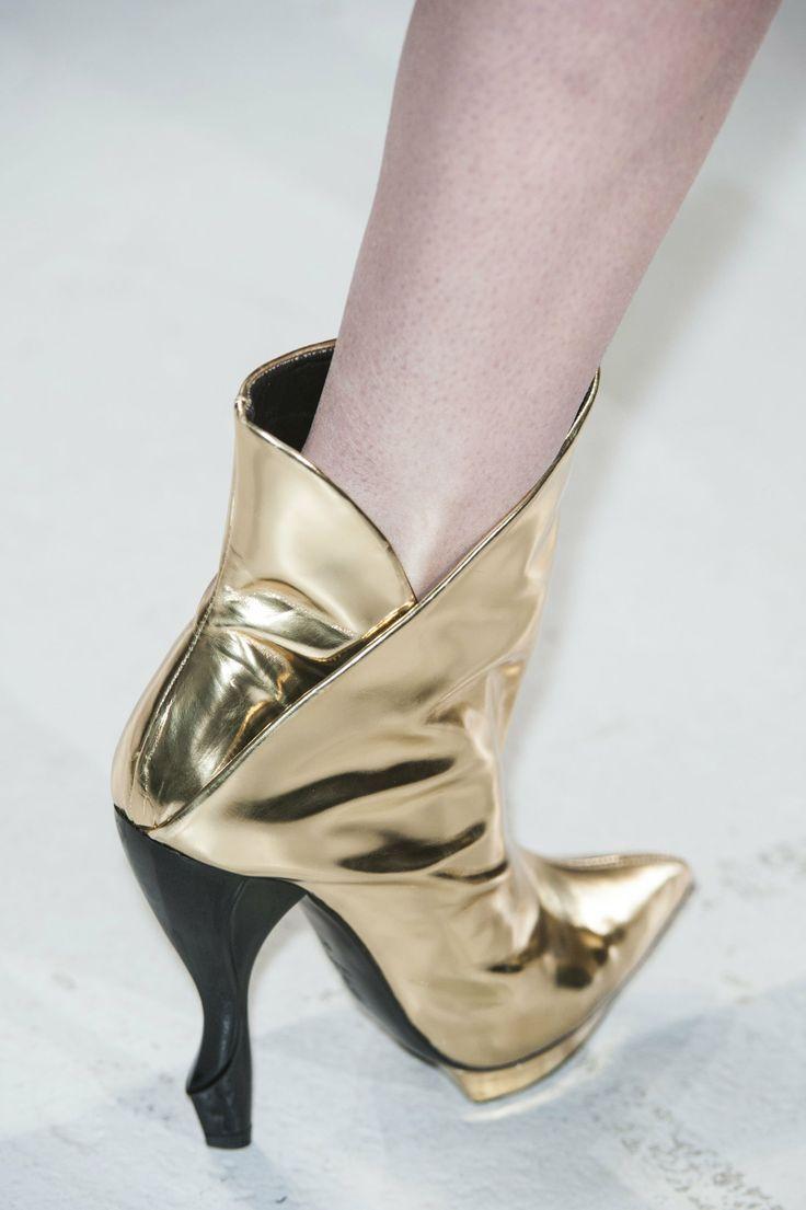 Sandale Femme Pas cher en Soldes Outlet, Marron cuir, Cuir, 2017, 37L'autre Chose