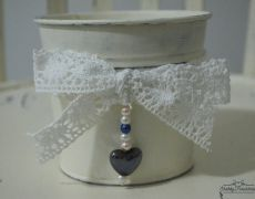Deco pot with beads