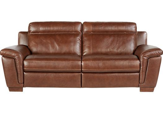 Small Sectional Sofa Shop for a Cindy Crawford Home Tuscany Brown Leather Reclining Sofa at Rooms To Go Find Leather Sofas that will look great in your home and ple u