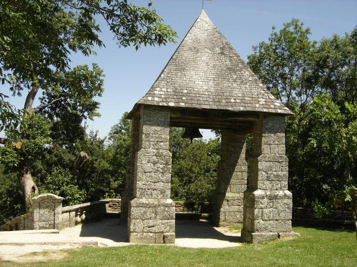 Campanile de la chapelle Ste Barbe - Le Faouët - Pays roi Morvan - Morbihan,  Bretagne Sud