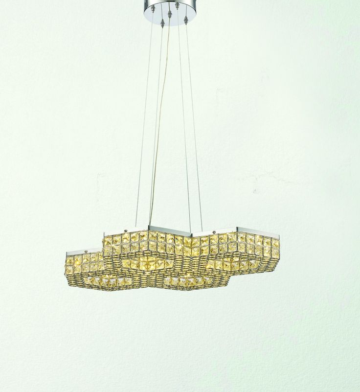 Patriot Lighting Elegant Home Honeycomb LED Pendant Light