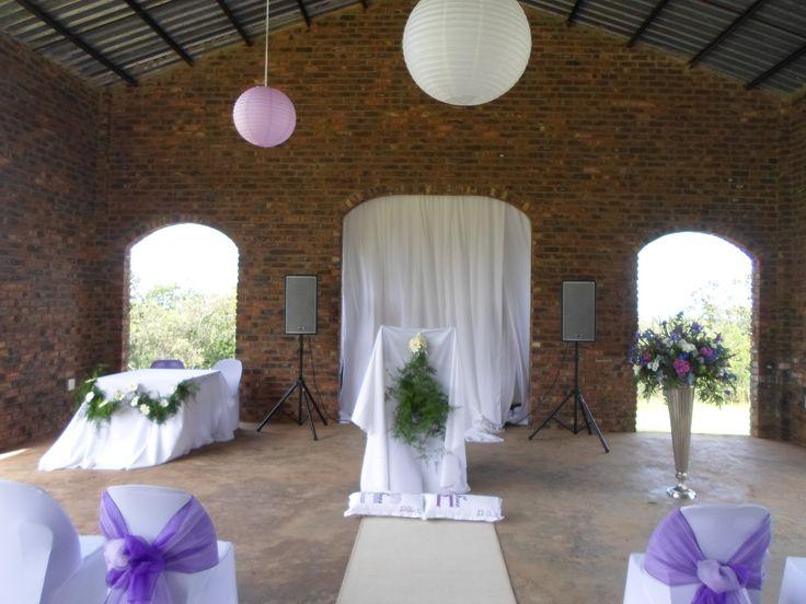 Euphoria Golf Estate & Hydro, Potato Shed for the perfect wedding ceremony