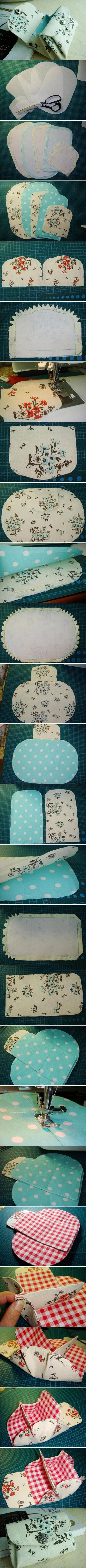 DIY Fabric Folding Purse DIY Projects | UsefulDIY.com Follow us on Facebook ==> https://www.facebook.com/UsefulDiy
