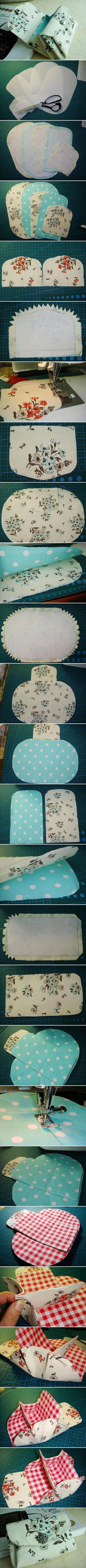 DIY Fabric Folding Purse