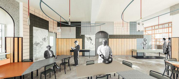 Liberamensa Restaurant Inside Turin Prison by Marcante-Testa.