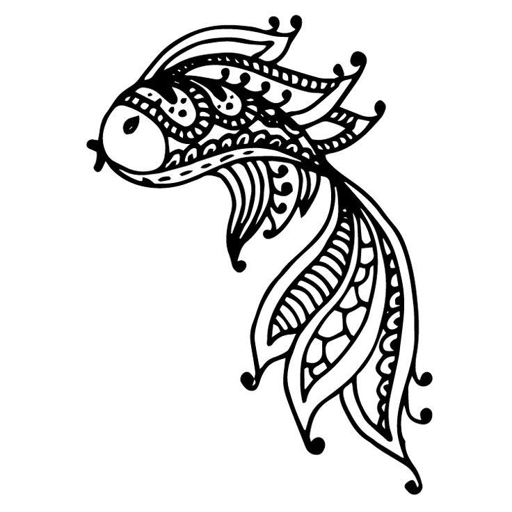 Henna Design Temporary Tattoos #637