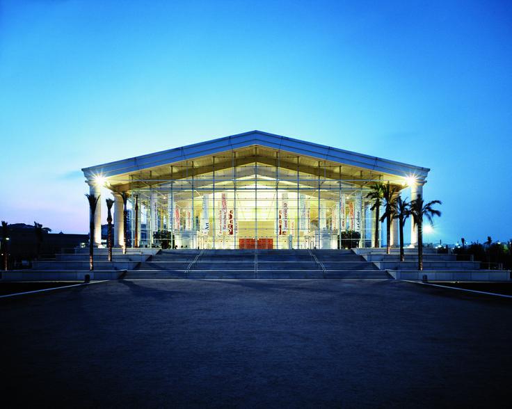 TNC - Catalonia's National Theatre in Barcelona, Spain   Ricardo Bofill Taller de Arquitectura   contemporan.com