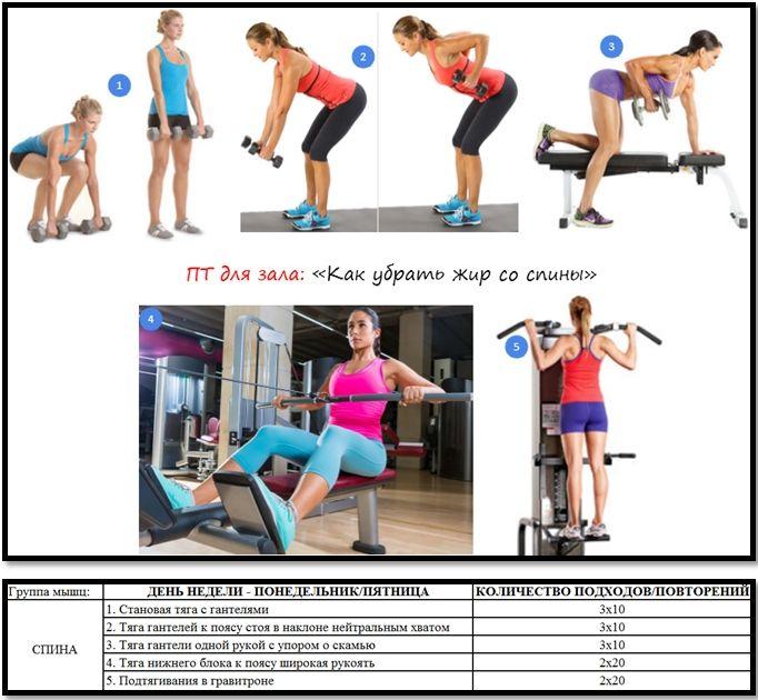Программа На Тренажерах Чтобы Похудеть. Программа тренировок в зале для похудения девушкам