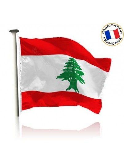 Drapeau Liban Made In France by Manufêtes