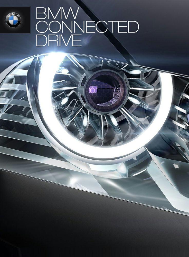 BMW Concept Design ConnectedDRIVE 2011 Detail Front Light