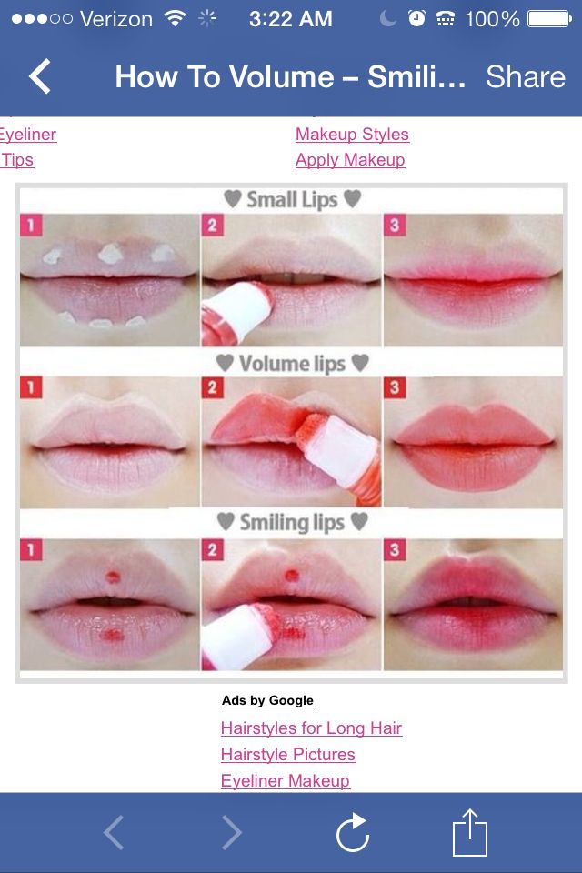 make your lips look bigger.