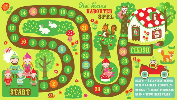 Kabouter Spel (Gnome Game), by Silvia Dekker