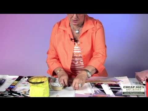 How To Draw a Straight Line Without Smearing With Watercolor Artist Anne Abgott…