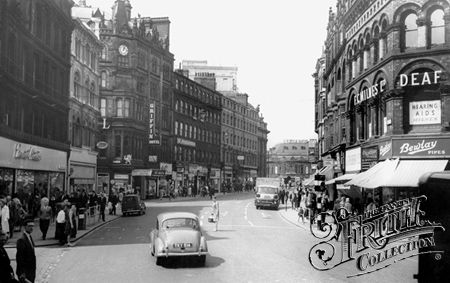 Boar Lane c1965, Leeds