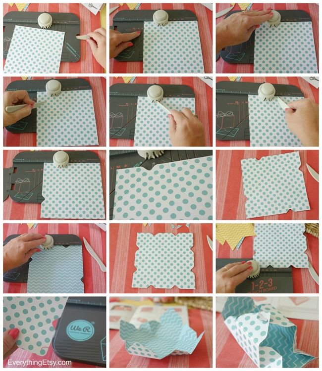 Making a box with 1-2-3 Punch Board - We R Memory Makers - EverythingEtsy.com