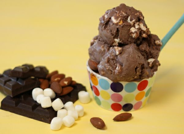 how to make rocky road without a machine