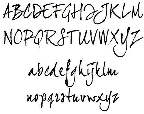 brown lineto font  free16