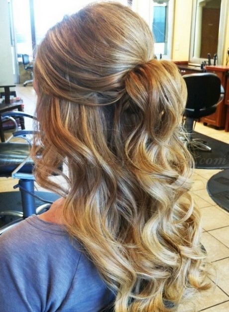 Prom Hairstyles For Long Hair Half Up Half Down Wedding