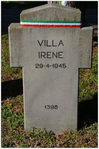 VILLA IRENE, CAMPO X, CAMPO DELL'ONORE, civile, P.F.R. di anni 56, uccisa a Milano dai partigiani il 27 aprile 1945